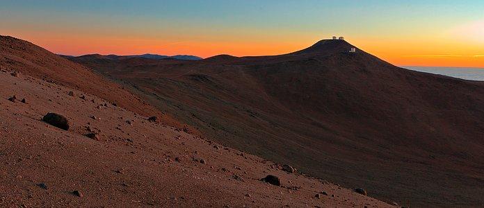 Paranal sunset