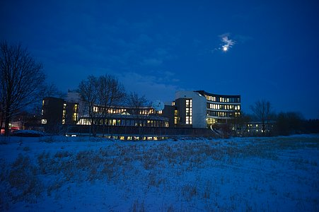 Snowy ESO Headquarters*