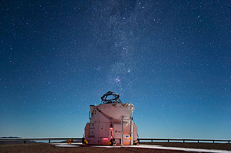 Starlight Shines Brightly Above Paranal