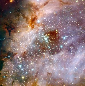 ESO's Very Large Telescope Peers into a Distant Nebula*