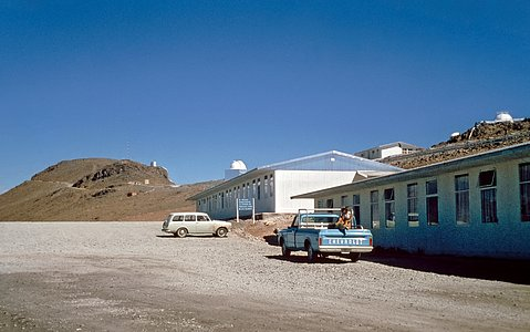 La Silla, the First Home for ESO's Telescopes (historical image)