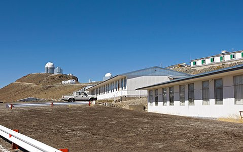 La Silla, the First Home for ESO's Telescopes (present-day image)