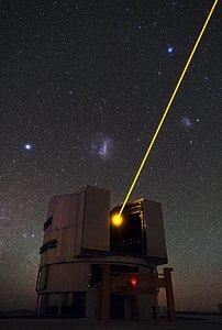 Yepuns Laser und die Magellanschen Wolken