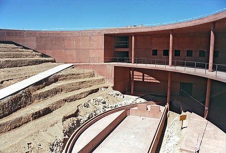 ESO's Paranal Residencia under construction