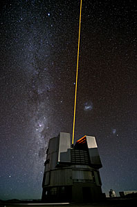 The Comet and the Laser