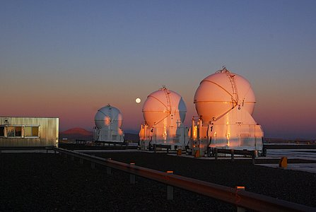 Belt of Venus over Cerro Paranal