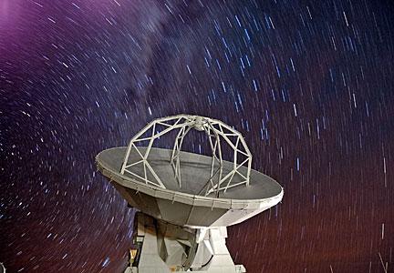 Stars Rain over ALMA