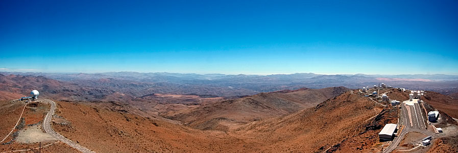 The Martian-like Landscape of La Silla