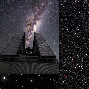 ESO-Teleskope nehmen ein altes Relikt unter die Lupe
