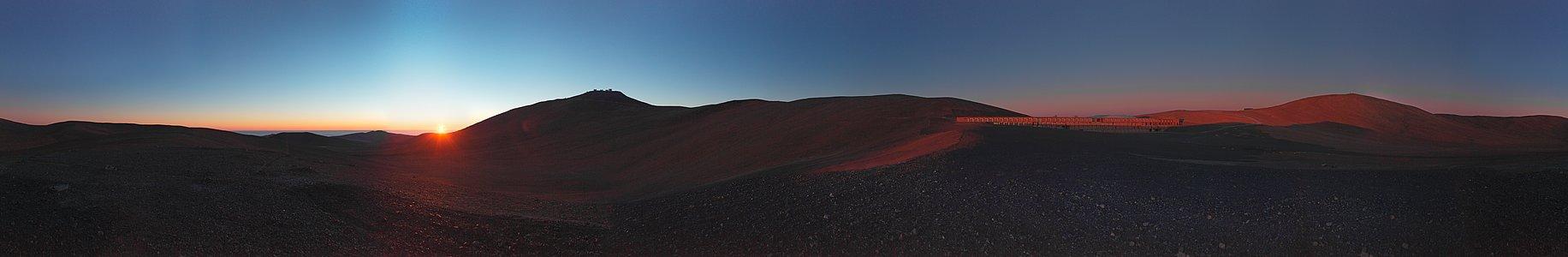 Panorama of Paranal