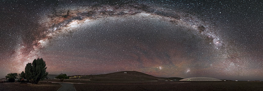 Archway over Paranal