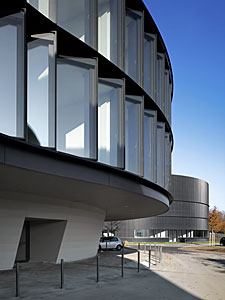 A view of the ESO Headquarters Extension