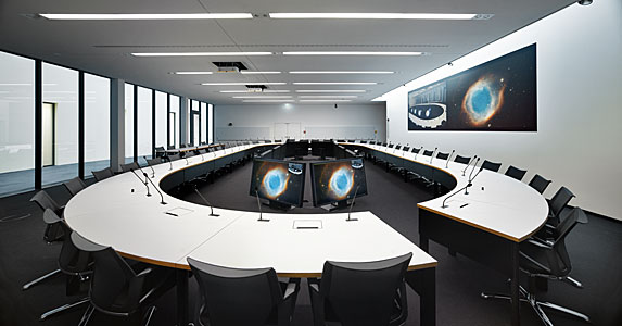 The new council room