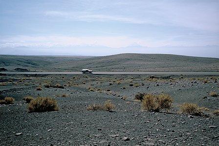 On the road to San Pedro de Atacama