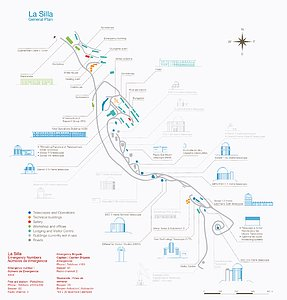 La Silla map and safety
