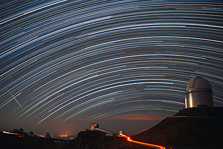 Stars Trails over La Silla