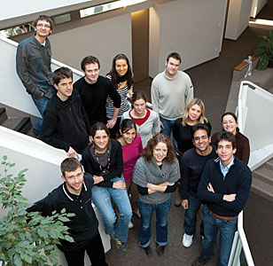 Students at ESO headquarters in Garching