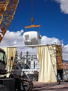 Assembling the ALMA antenna