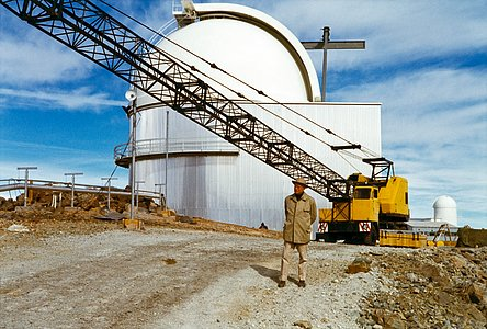 Heckmann and the ESO 1-metre Schmidt telescope