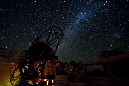 SLODAR Instrument under the Paranal Sky