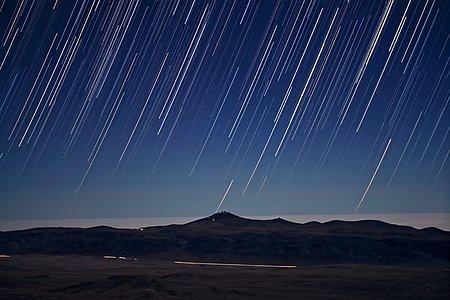 It's Raining Stars on Paranal
