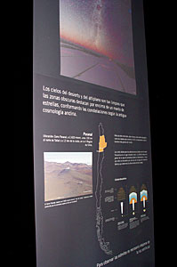 ESO exhibition at the Taltal Museum