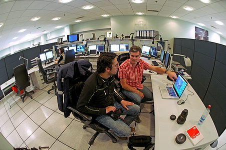 ESO Photo Ambassadors in UT3 control room