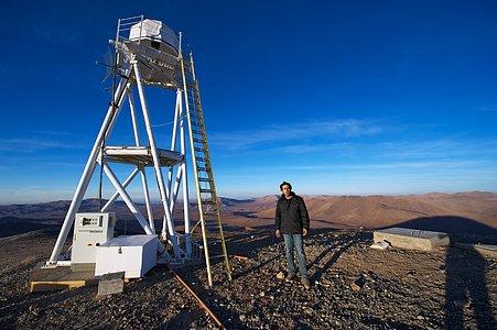 Babak Tafreshi at Cerro Armazones