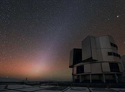Night sky at Paranal