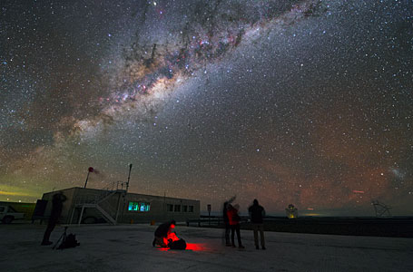 Astronomers enjoying free time