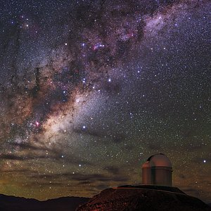 Radiance of Milky Way over La Silla