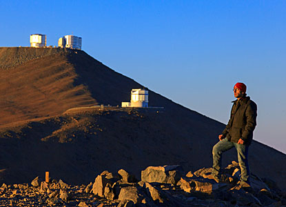 Paranal from the Mountainside