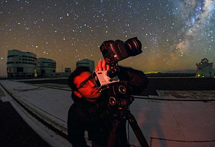 Babak tests Vixen Polarie Star Tracker