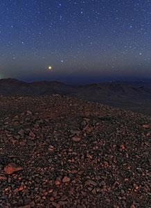 Clear Blue Atacama View