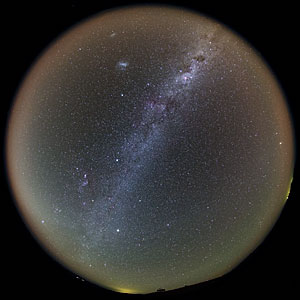 The Full Chilean Night Sky