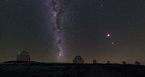 Chilean Night Sky Revealed at La Silla