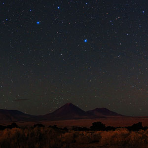 Night Sky View over Licancabur
