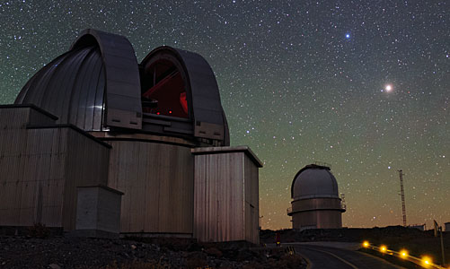 Night View of La Silla