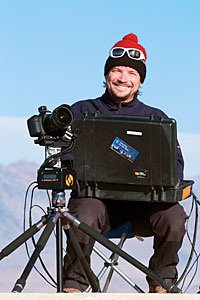 Smiles from Christoph during the UHD Expedition
