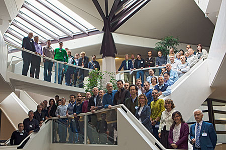 UV Workshop group picture at ESO HQ Garching