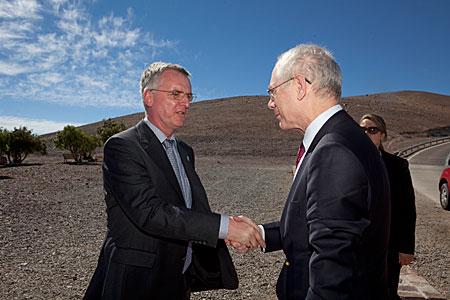 Van Rompuy Visit