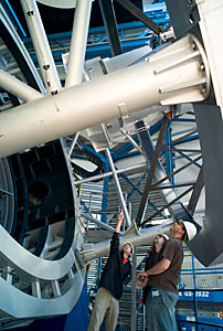 VISTA telescope structure