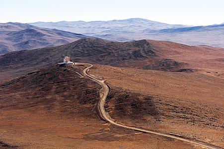 The Desert around VISTA