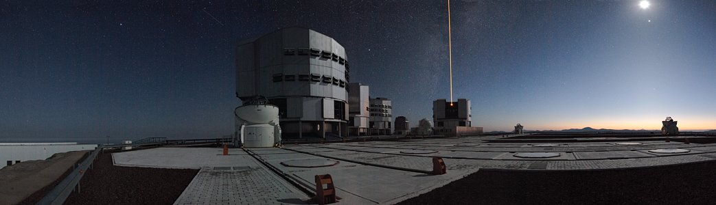 Early Morning on Paranal*