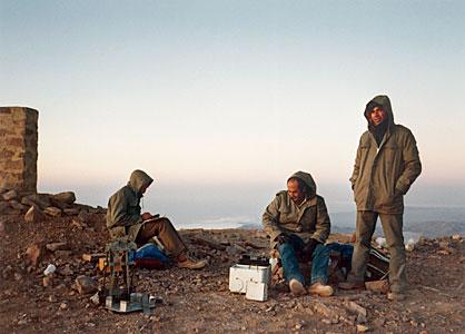 VLT Site Tests in 1989