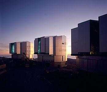 VLT-Hauptteleskope
