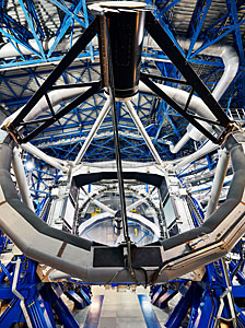 The top ring of a VLT Unit Telescope