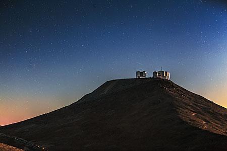 Cerro Paranal in shadow