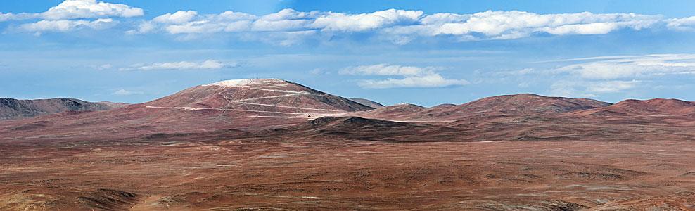 Cerro Armazones from Paranal