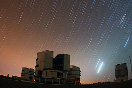 VLT under a Venus-Jupiter Conjunction